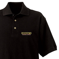Men's Desert Sands Golf Shirt - Rockstar