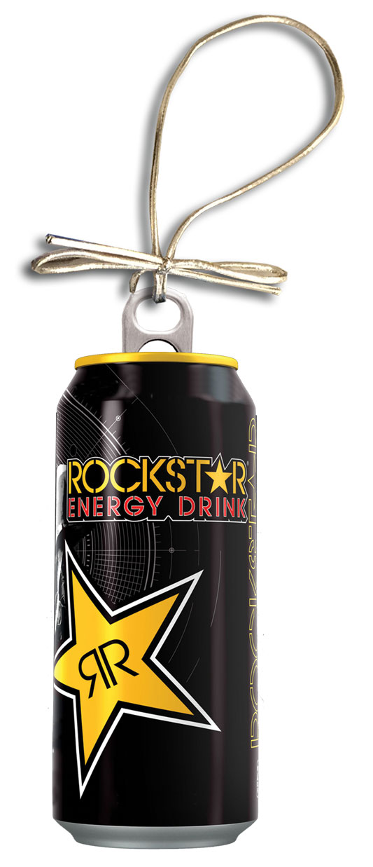 Rockstar Holiday Can Ornament