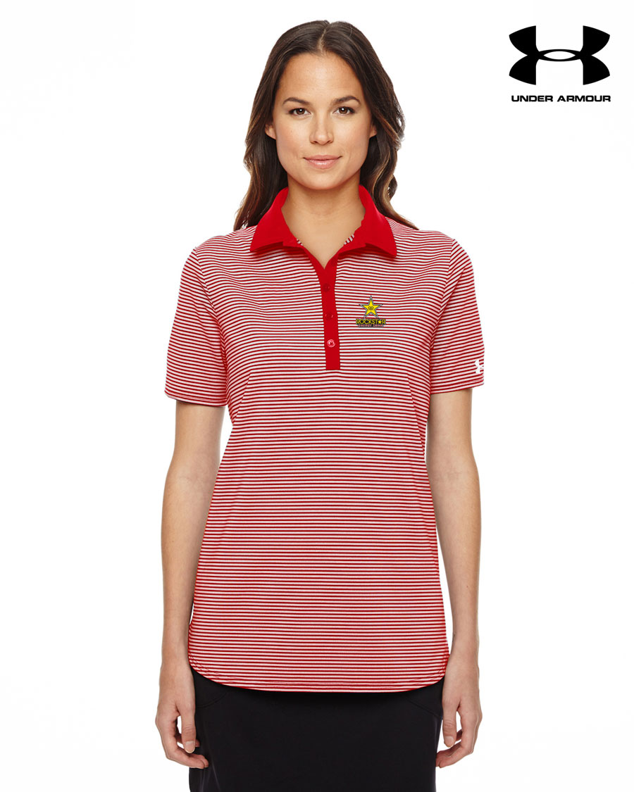 Ladies' Under Armour Clubhouse Polo - ROCKSTAR