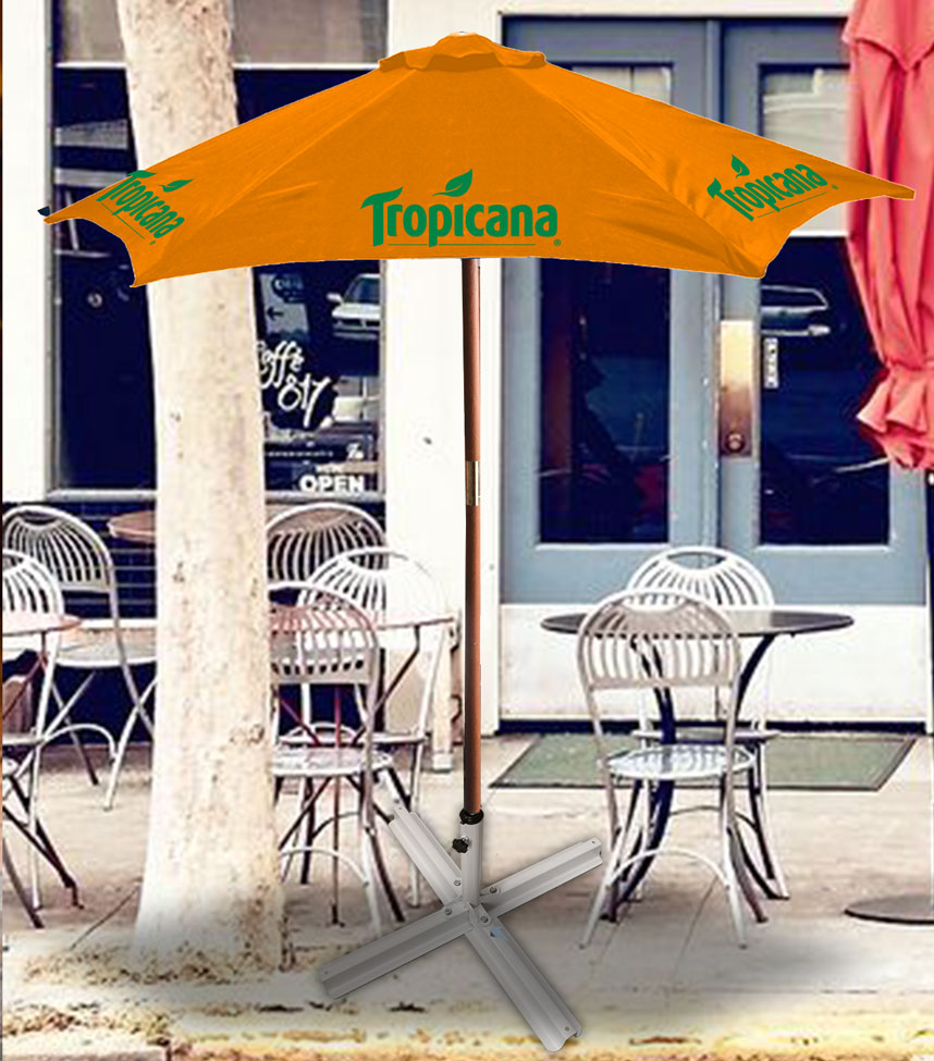 7ft Wooden Patio Umbrella - Tropicana.....Please Login To see our very Special Pricing