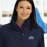 Ladies' Soft Shell Jacket - Aquafina