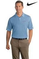 Nike Golf - Dri-FIT Pebble Texture Polo - Men's - Aquafina