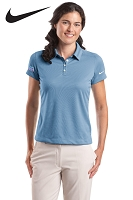 Nike Golf - Ladies' Dri-FIT Pebble Texture Polo - Aquafina