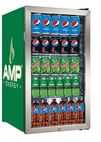 Beverage Center - Fridge - Amp Energy