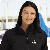 Ladies' Soft Shell Jacket - Amp Energy