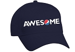 Banner Cap - Navy - Awesome
