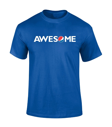 AWESOME T-Shirt (Royal)