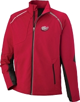 Dynamo Men's Hybrid Performance Soft Shell Jacket - Dr. Pepper