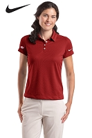 Nike Golf - Ladies' Dri-FIT Pebble Texture Polo - Dr. Pepper