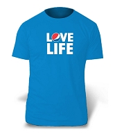 Love LifeT-Shirt - Aqua