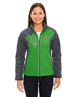 Terrain Ladies' Colour-Block Soft Shell Jacket - MTN Dew