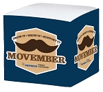 Paper Cube - Movember
