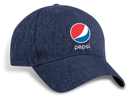 MOISTURE WICKING STRUCTURED MILAN TWEED CAP - Pepsi