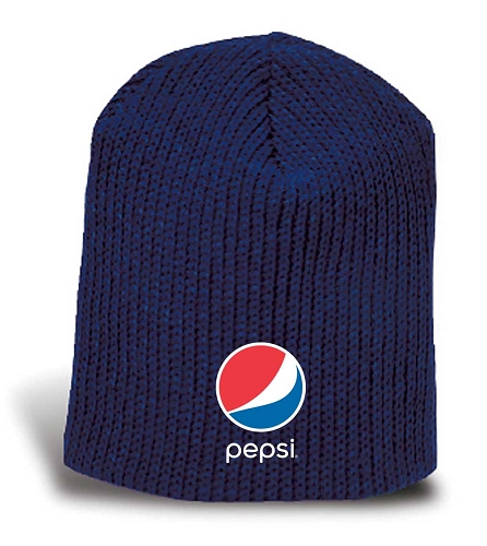 Heavyweight Shaker Knit Beanie - Pepsi