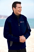 Men's Soft Shell Technical Jacket  - Pepsi