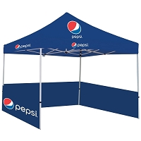 Deluxe Showstopper 10  Square Event Tent - Pepsi