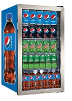 Beverage Center - Fridge - New Pepsi Bottle
