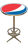 Logo Bar Table - Pepsi
