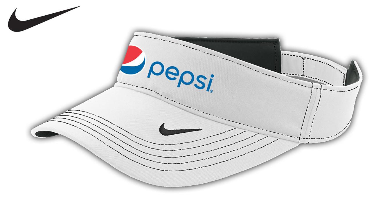 Nike Golf - Dri-FIT Swoosh Visor - Pepsi 8033ea5b479