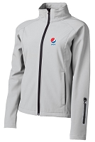 Ladies' 3-Layer Performance Soft Shell Summit Jacket - Pepsi