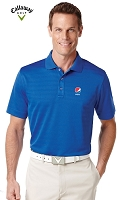 Callaway Textured Performance Polo - Pepsi
