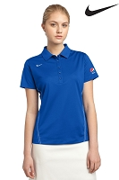 Ladies'  Nike Golf - Dri-FIT Sport Swoosh Pique Polo - Pepsi