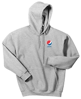 Pepsi Heavy Blend 50/50 Hooded Sweatshirt Grey (Unisex)