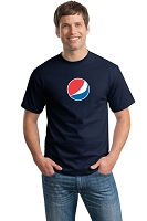 Pepsi Smile T-Shirt Men's - Navy