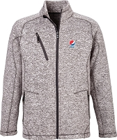Peak Men's Sweater Fleece Jacket - Pepsi