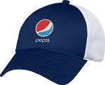 Jersey Mesh 6 Panel Constructed Full-Fit Cap - Pepsi