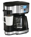 The Scoop 2-Way Brewing Coffeemaker