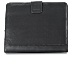Brookstone® Leather iPad Stand with Sleeve