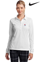 Nike Golf Ladies' Long Sleeve Dri-FIT Stretch Tech Polo - Pepsi