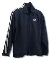 Retro Vintage Warm Up Jacket - Adult - Pepsi