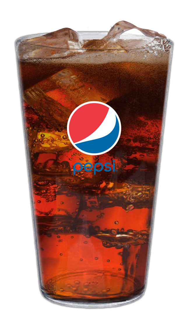 16oz High Density Acrylic Pint - 50pcs/Pack - Pepsi - Login For Special $