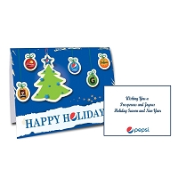 Full Size Holiday Card - Pepsi