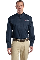 Long Sleeve SuperPro Twill Shirt - Pepsi