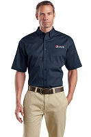 Short Sleeve SuperPro Twill Shirt - Pepsi