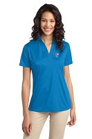 Ladies 100% Polyester Wicking Dry-fit Polo - Pepsi
