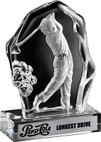 Crystal Golf Drive Award