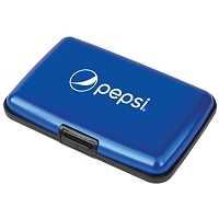 Aluminum Card Holder - Identity Theft Protection - Pepsi