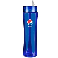 28oz Titan Bottle with Premium Lid - Pepsi
