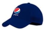 Cotton Cap With Mesh Backing - Pepsi