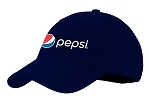Cotton Cap With Cotton Backing - Pepsi