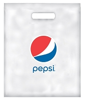 100 Plastic Convention Bags - Pepsi