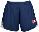 Ladies  Team Spirit All Sport Short - Pepsi Globe