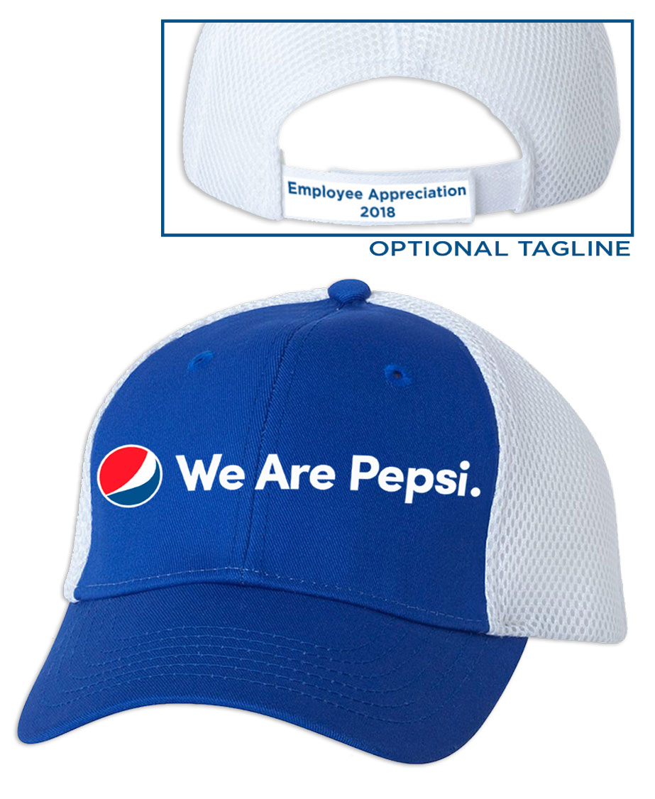 Spacer Foam Mesh Cap - We Are Pepsi