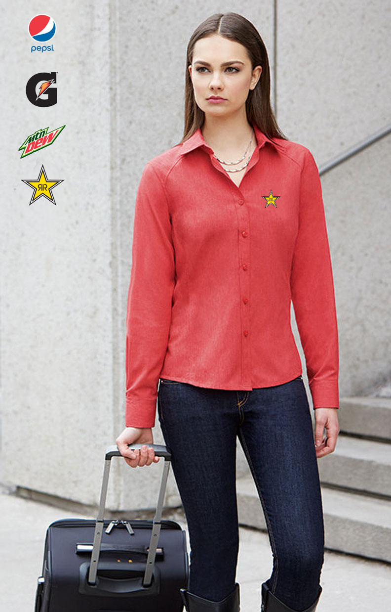 Ladies' Mélange Performance Shirts
