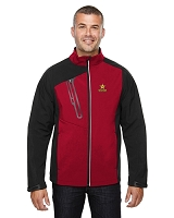 Terrain Men's Colour-Block Soft Shell Jacket - Rockstaar