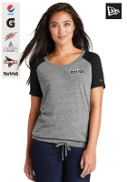 New Era ® Ladies Tri-Blend Performance Cinch Tee